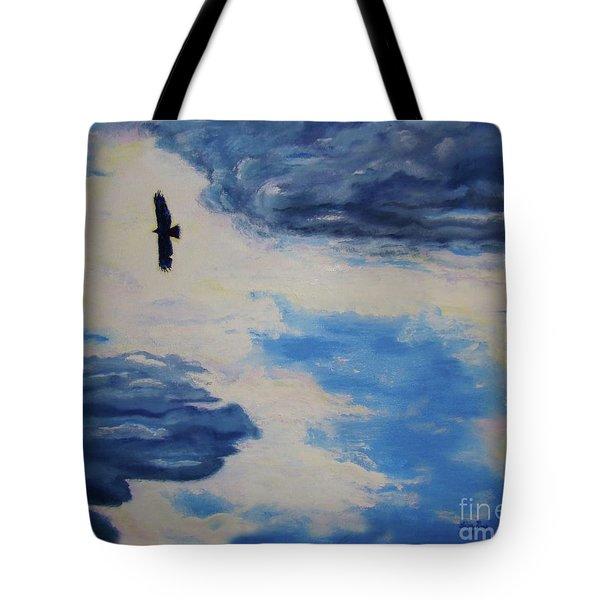 Soaring   Tote Bag by Lisa Rose Musselwhite