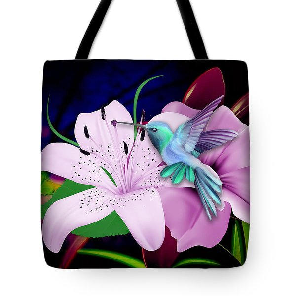 Tote Bag featuring the mixed media Soaring by Marvin Blaine