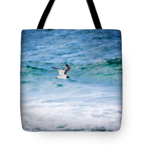 Soaring Over The Ocean Tote Bag by Shelby Young