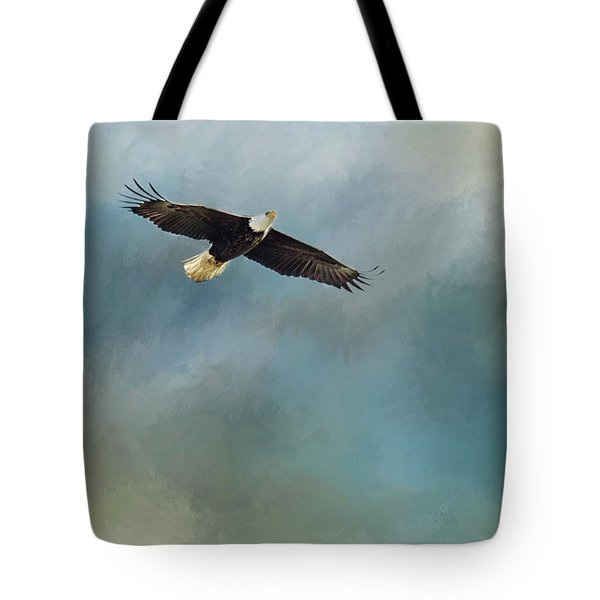 Tote Bag featuring the photograph Soaring by Rebecca Cozart