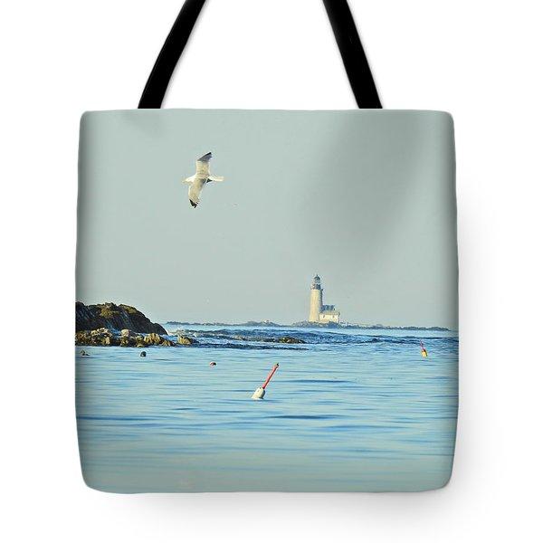 Soaring Seagull Tote Bag