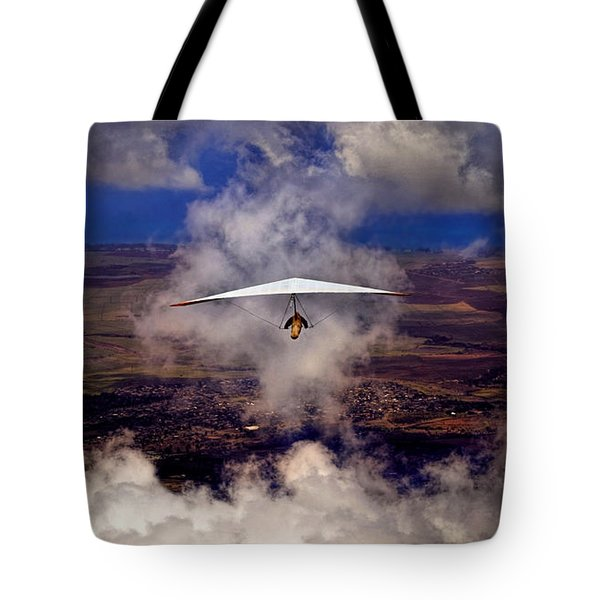 Soaring Through The Clouds Tote Bag