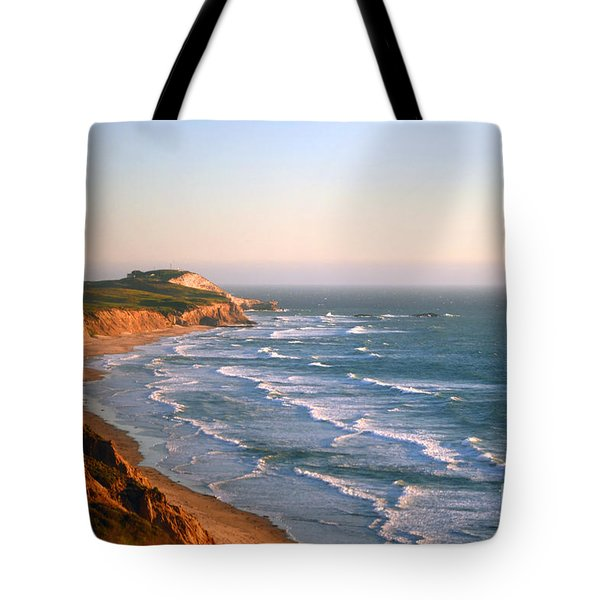 Tote Bag featuring the photograph Socal Sunset Ocean Front by Clayton Bruster
