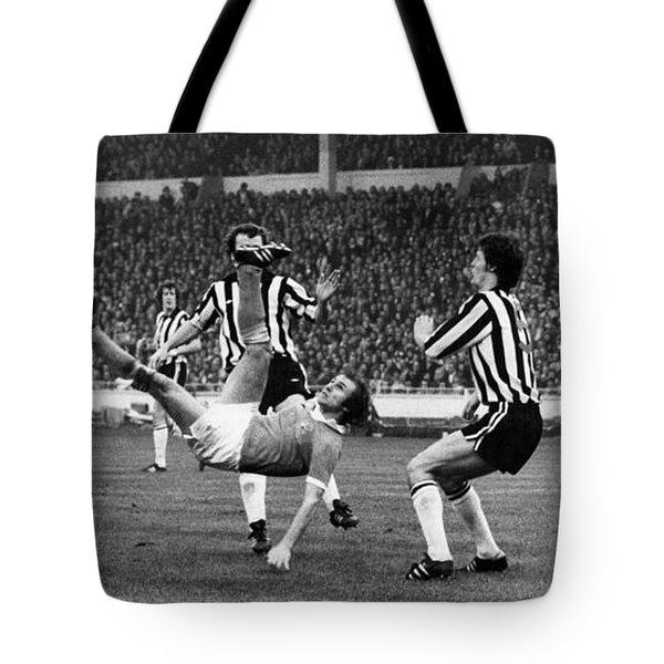 Soccer Match, 1976 Tote Bag by Granger