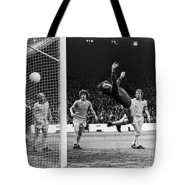 Soccer Match, 1977 Tote Bag by Granger