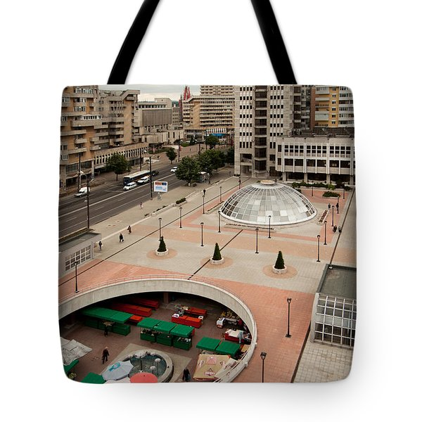 Socialistic Town Planning Tote Bag