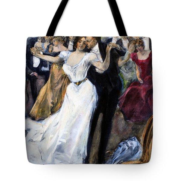 Society Ball, C1900 Tote Bag by Granger