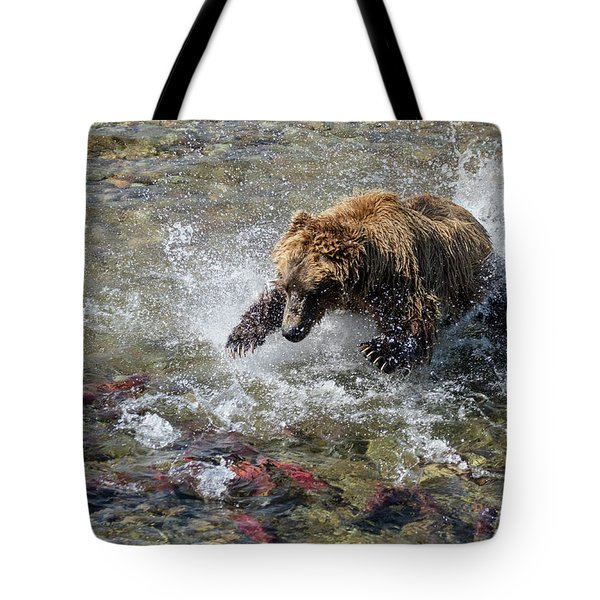 Sockeye In Sight  Tote Bag