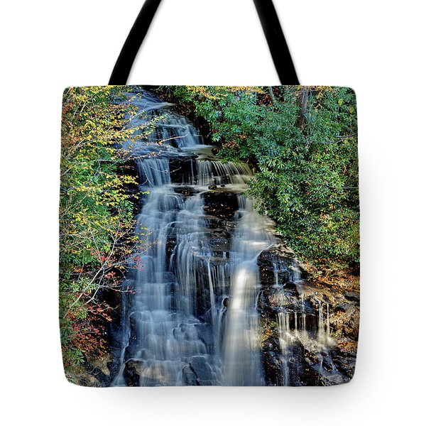 Soco Falls In Fall Tote Bag