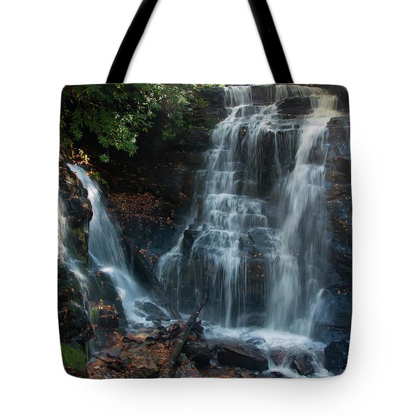 Tote Bag featuring the photograph Soco Waterfalls  by Chris Flees