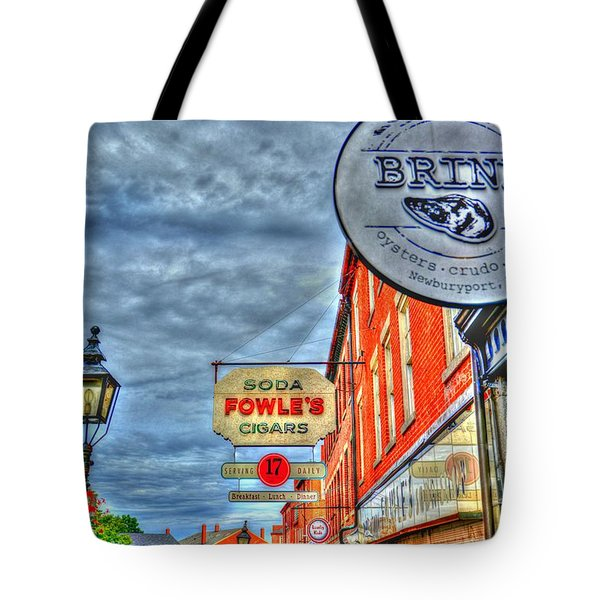 Soda Cigars And Brine Painterly   Tote Bag