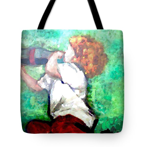 Soda Pop Child Tote Bag