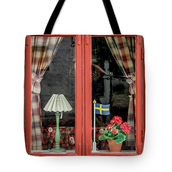 Tote Bag featuring the photograph Soderkoping Window by KG Thienemann