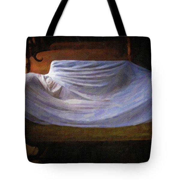 Sofa In Barn Tote Bag