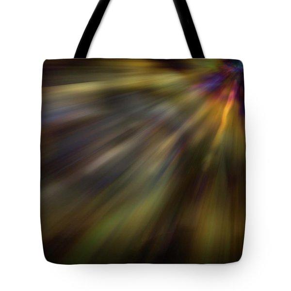Soft Amber Blur Tote Bag