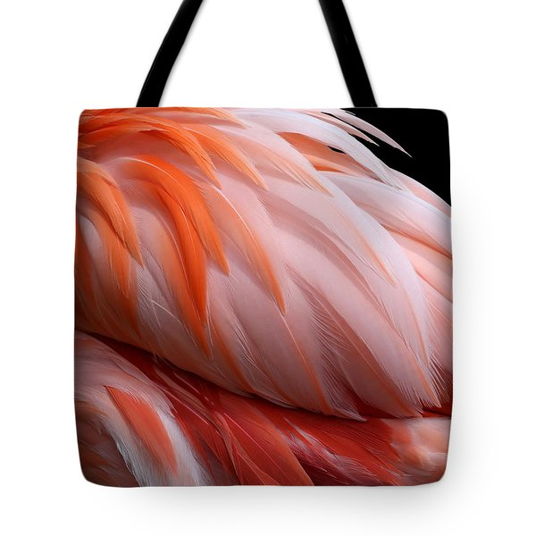 Soft And Delicate Flamingo Feathers Tote Bag