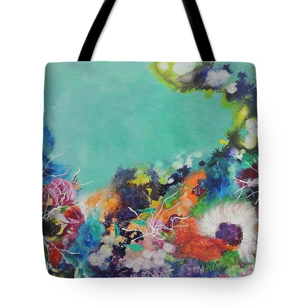 Soft And Hard Corals Tote Bag