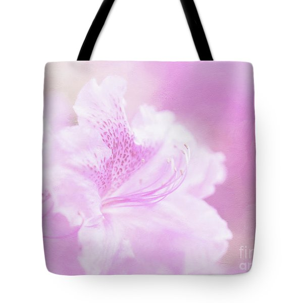 Soft And Lovely Pink Rhododendrons  Tote Bag