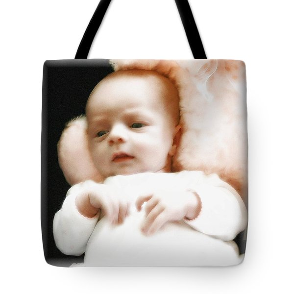 Soft Baby Tote Bag by Ellen O'Reilly