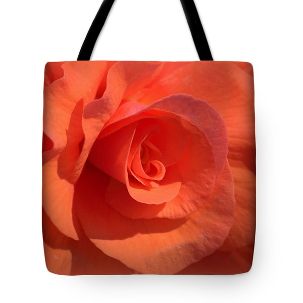 Soft Begonia Tote Bag