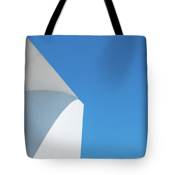 Tote Bag featuring the photograph Soft Blue by Eric Lake
