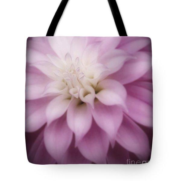 Soft Dahlia  Tote Bag
