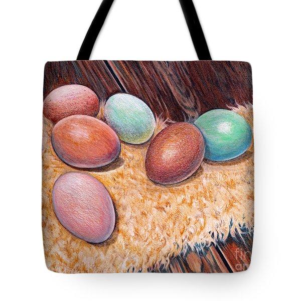 Soft Eggs Tote Bag