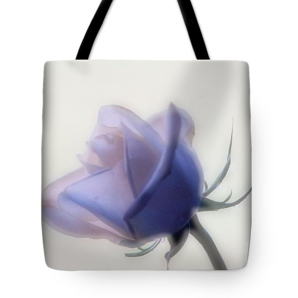 Soft Focus Rose Tote Bag