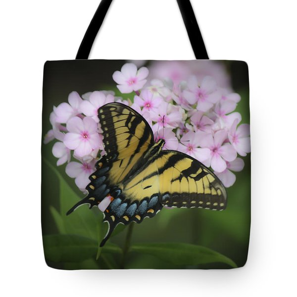 Soft Focus Tiger Swallowtail Tote Bag by Teresa Mucha