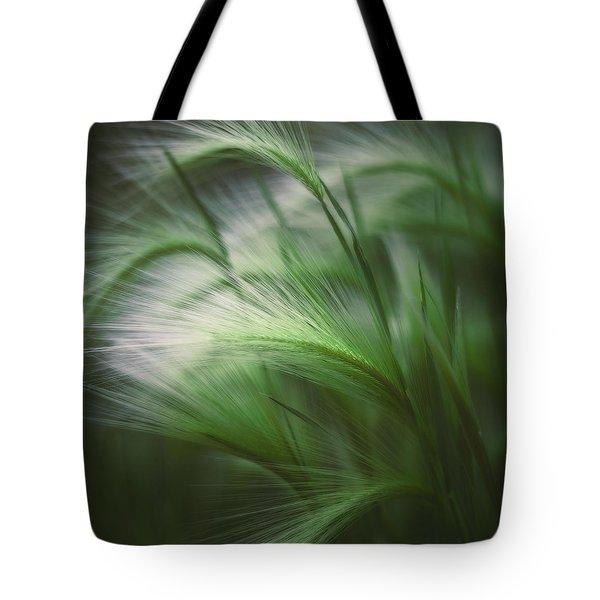 Soft Grass Tote Bag