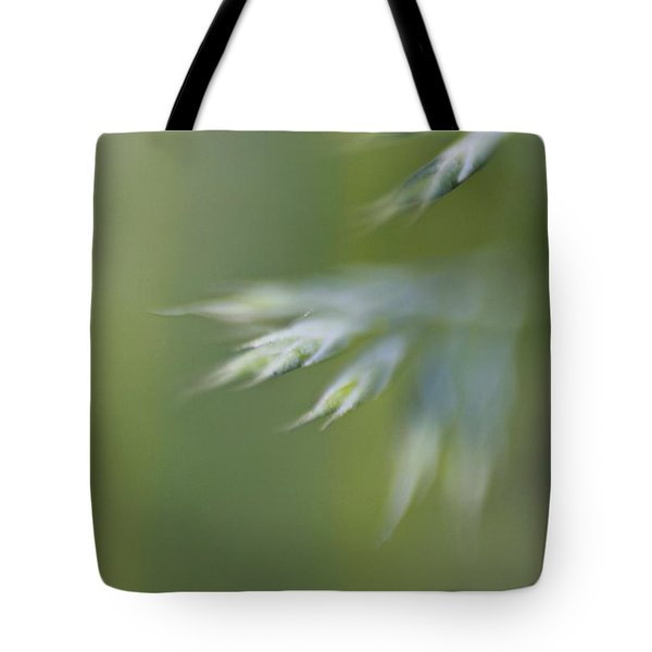 Tote Bag featuring the photograph Soft Green by Michaela Preston