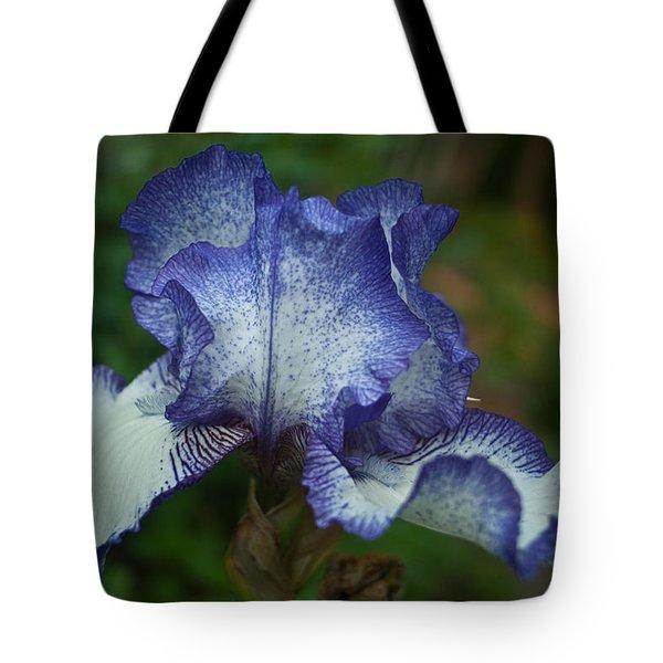 Soft Iris Tote Bag by Douglas Barnett