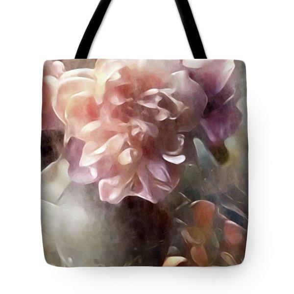 Soft Pastel Peonies Tote Bag