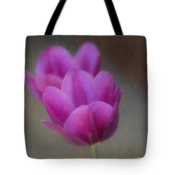Soft Pastel Purple Tulips  Tote Bag by Teresa Mucha