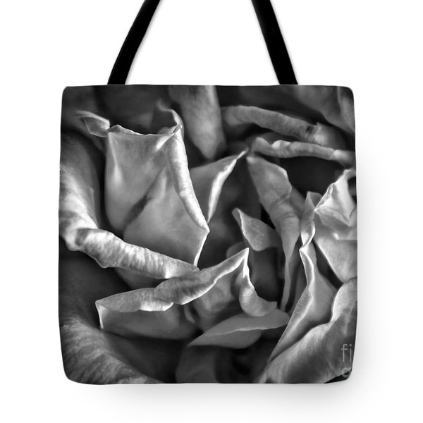 Soft Petals For My Valentine Tote Bag by Janice Rae Pariza