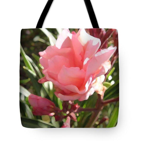 Soft Pink Blush Tote Bag