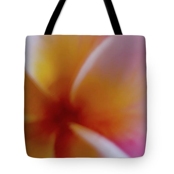 Tote Bag featuring the photograph Soft Plumeria by Roger Mullenhour