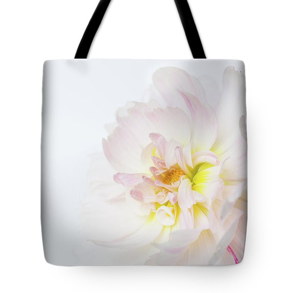 Tote Bag featuring the photograph Soft Ruffles by Mary Jo Allen