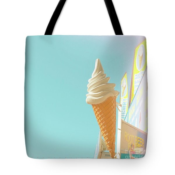 Tote Bag featuring the photograph Soft Serve by Cindy Garber Iverson