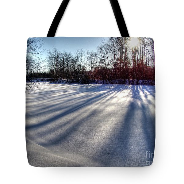 Soft Shadows Tote Bag