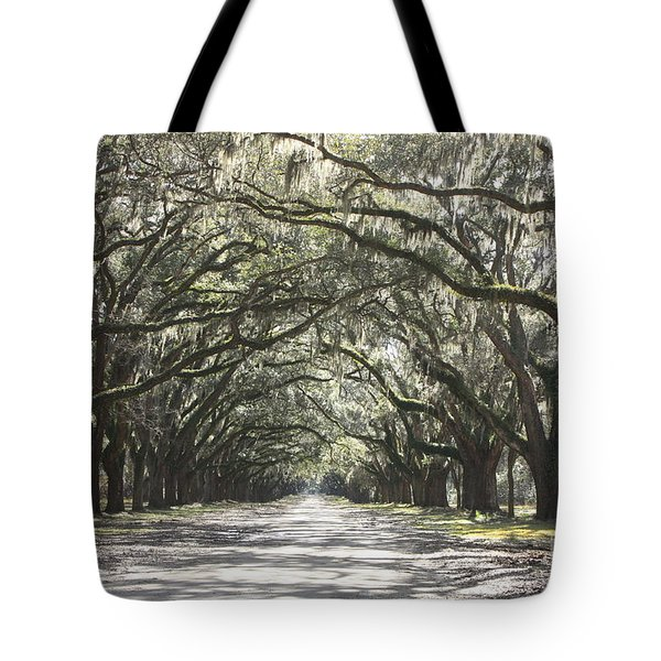 Soft Southern Day Tote Bag by Carol Groenen