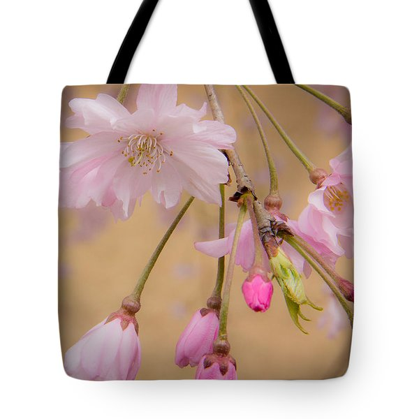 Soft Spring Blossoms Tote Bag