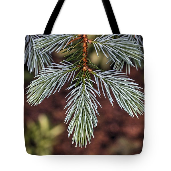 Soft Spruce Tote Bag