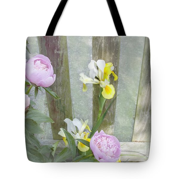 Soft Summer Flowers Tote Bag