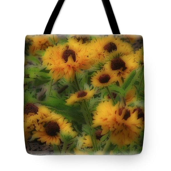 Soft Touch Black Eyed Suzy's  Tote Bag