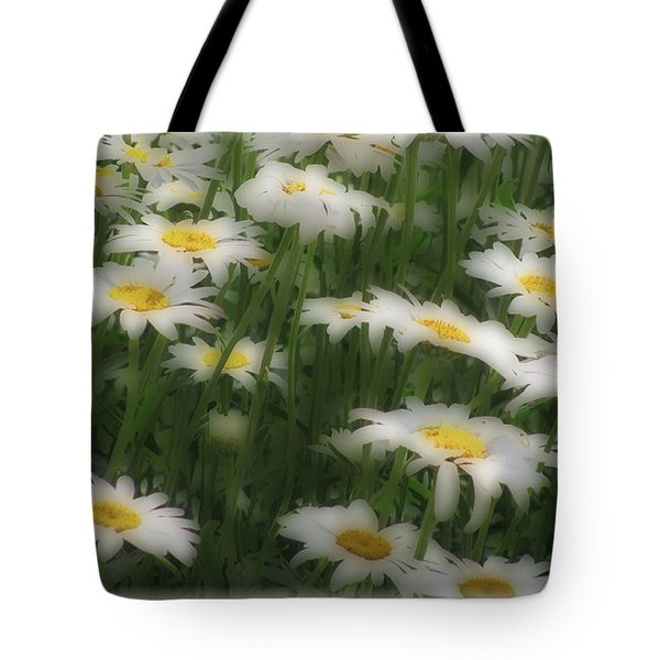 Soft Touch Daisy Tote Bag