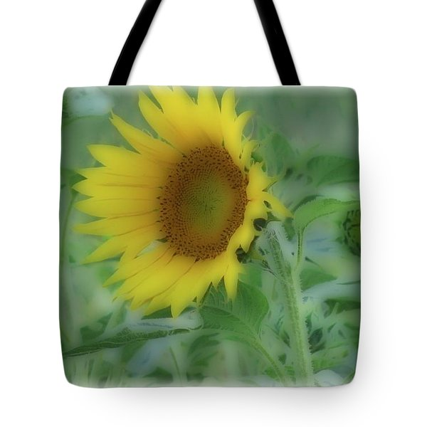 Soft Touch Sunflower Tote Bag