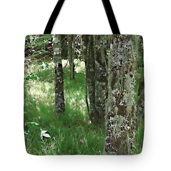 Tote Bag featuring the photograph Soft Trees by Shari Jardina