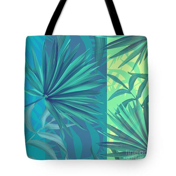 Soft Tropic  Tote Bag