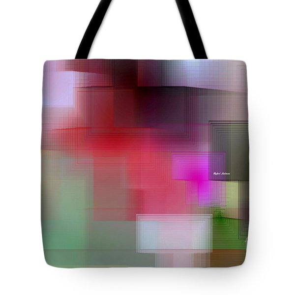 Tote Bag featuring the digital art Soft View In 3 Stages by Rafael Salazar